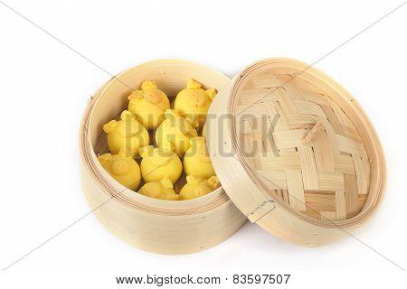 Dimsum In The Steam Basket