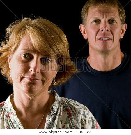 Angry, disapproving parents