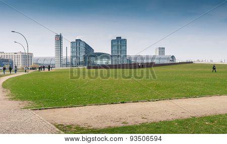 Berlin Hauptbahnhof Or Berlin Central Station.