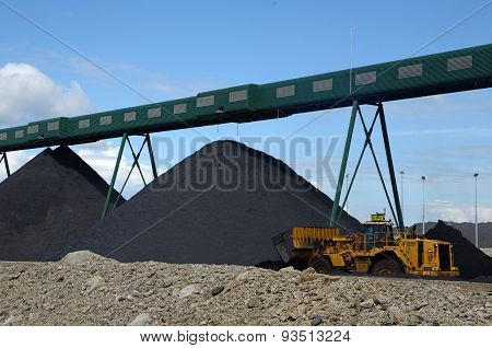 Piling Up The Coal