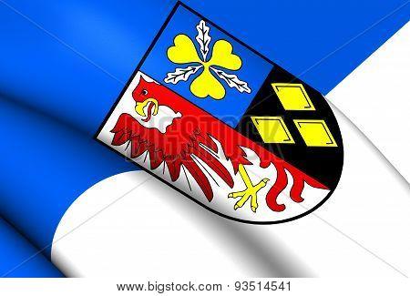 Flag Of Stendal Kreis, Germany.