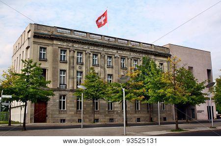 The Swiss Embassy In Berlin