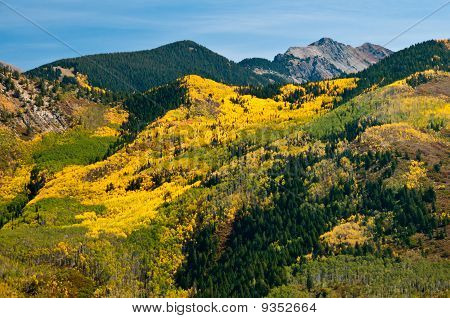 Mount Soporis In Fall Dress
