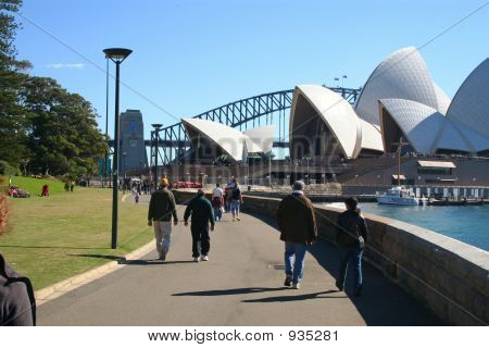 Tourist Walkers