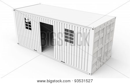 3D  Detailed Container House