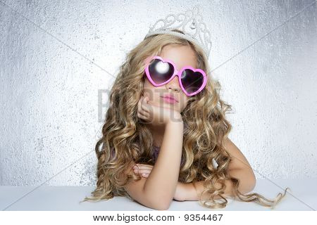 Fashion Victim Little Princess Girl Portrait