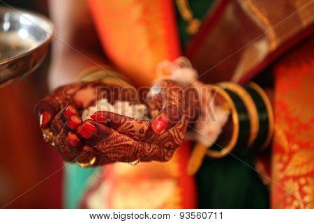 Religious Wedding Ritual