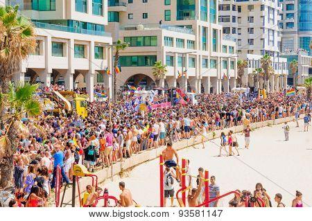 Tel-aviv Pride Parade 2015