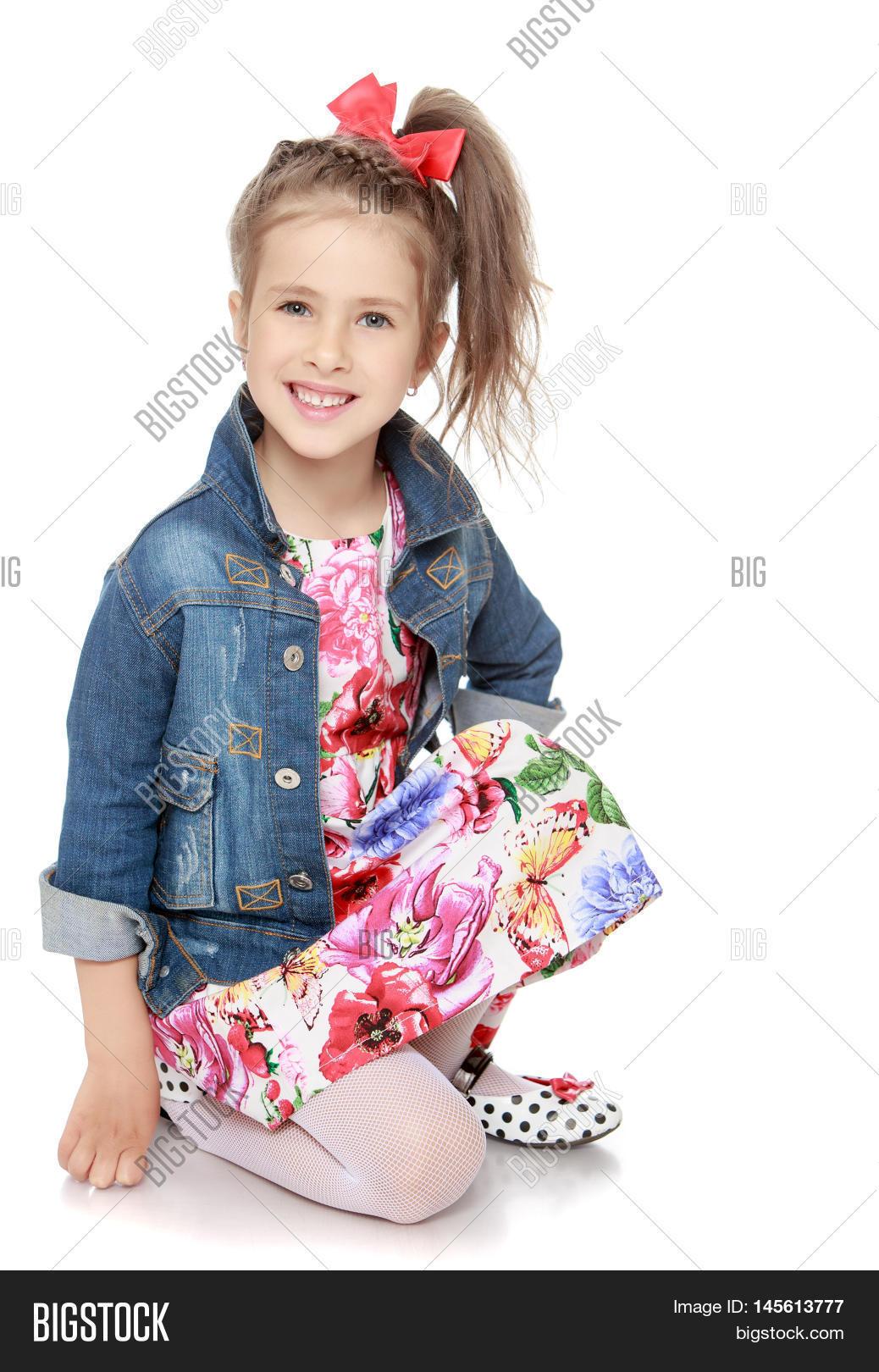 d020e918d59 Caucasian Little Girl Image   Photo (Free Trial)