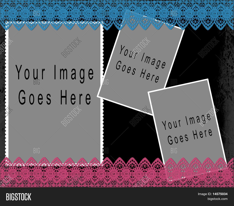 Imagen y foto Plantilla De (prueba gratis)   Bigstock