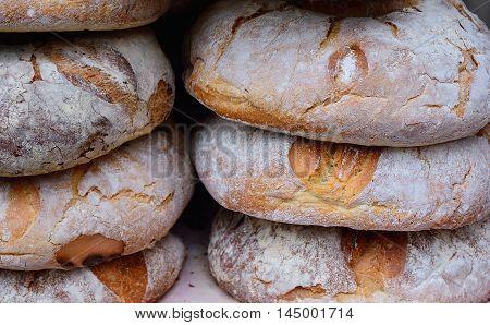 Basket Of Fresh Baked Bread