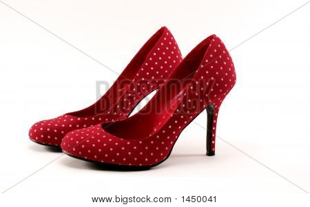 Red Polkadot Heels #2