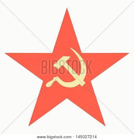 Communist Star Vintage