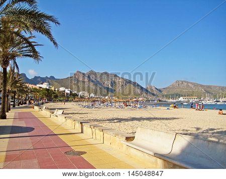 Beach In Port De Pollenca