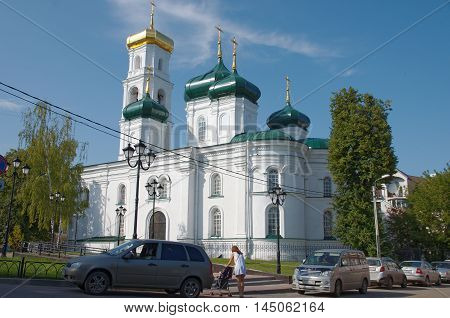 Nizhny Novgorod, Russia - August 18, 2016: Church of the Ascension of the Lord in Nizhny Novgorod