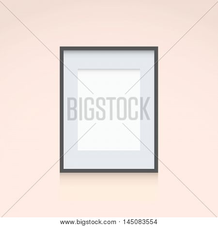 Photo Frame Template Vertical Orientation