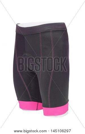 a bike shorts with a chamois pad for comfortable riding