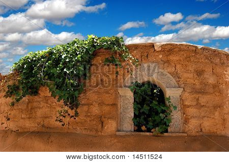 Niche in Adobe Wall