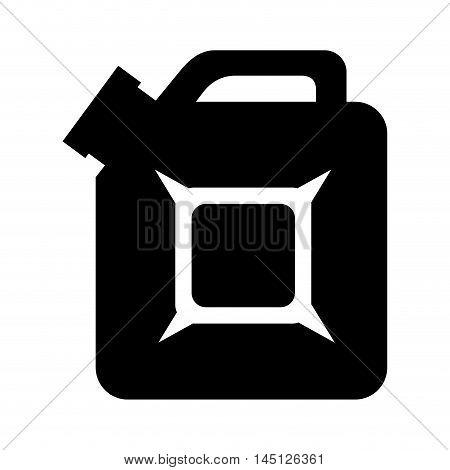 gallon oil gasoline design isolated vector illustration eps 10