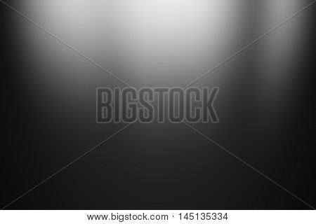 black background / spotlight with black gradient background / gradient flat wall and floor in empty spacious room / black empty room studio gradient used for background and display your product
