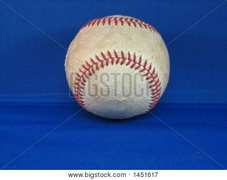 Scuffed Up Baseball