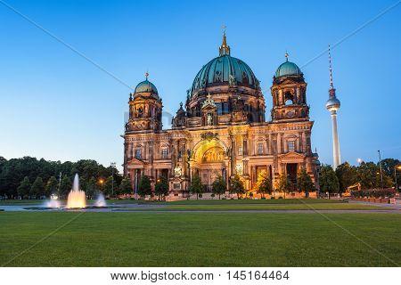 Berlin Cathedra or Berlin Dom,l Berlin Germany