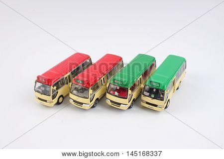 the hong kong transport of mini bus