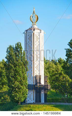 Famine Victims Monument. Kiev, Ukraine