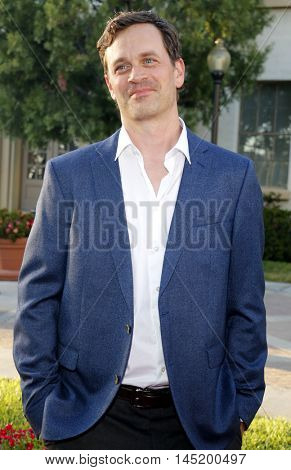 Tom Everett Scott at the Los Angeles premiere of 'Sister Cities' held at the Paramount Studios in Hollywood, USA on August 31, 2016.