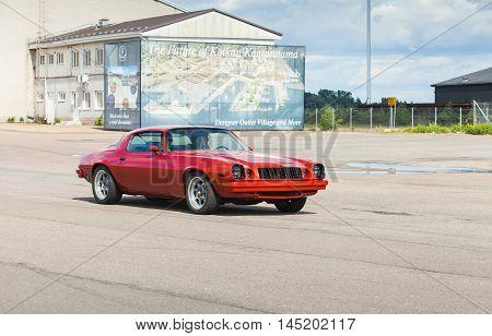 Red 1976 Chevrolet Camaro Sport