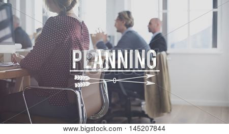 Plan Planning Strategy Operations Process Concept