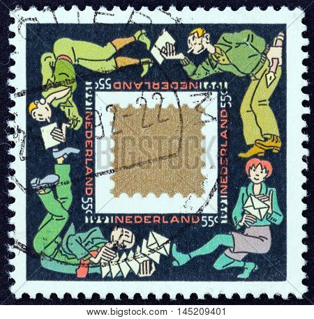 NETHERLANDS - CIRCA 1991: A stamp printed in the Netherlands from the