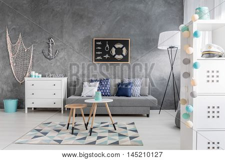 Room Inspired By Sea Voyages