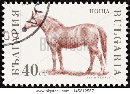 BULGARIA - CIRCA 1991: A stamp printed in Bulgaria from the