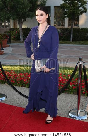 LOS ANGELES - AUG 31:  Michelle Trachtenbergs at the