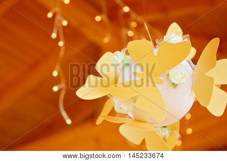 Butterflies and lights - decoration for parties