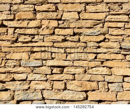 An old stone wall texture