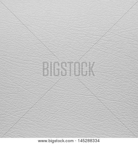 Close up white leather and texture background