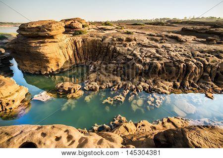 Unseen Thailand grand canyon sam pan bok at ubonratchathani (3000 bok)