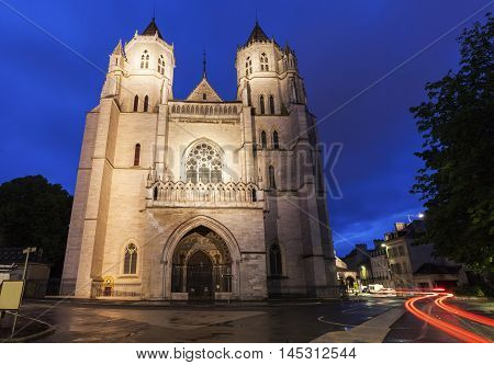 St Benigne Cathedral in Dijon. Dijon Burgundy France