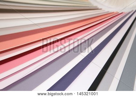 Veer Pantone colors to paint. Many different colors