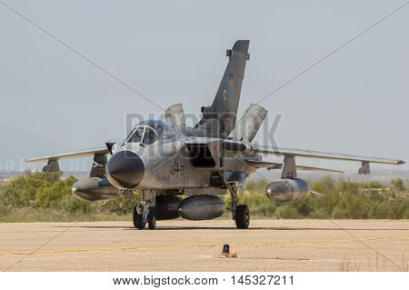 German Air Force Tornado Fighter Jet