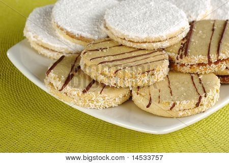Peruvian Cookies Called Alfajor