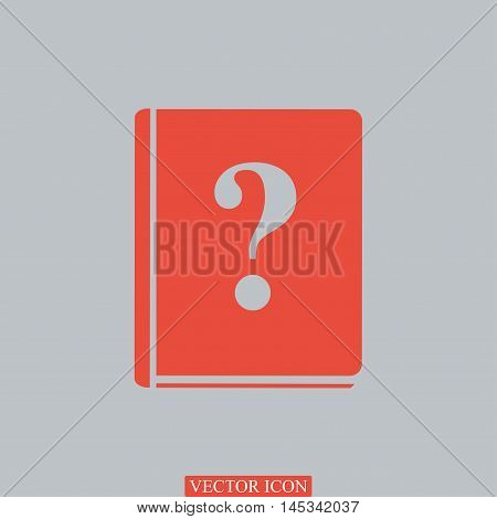Book And A Question Mark Icon