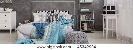 Cyan In Modern Bedroom Design