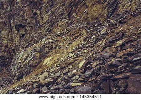 Deserted Basalt Quarry
