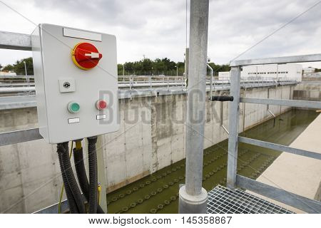 Wastewater Treatment Facility Switchboard