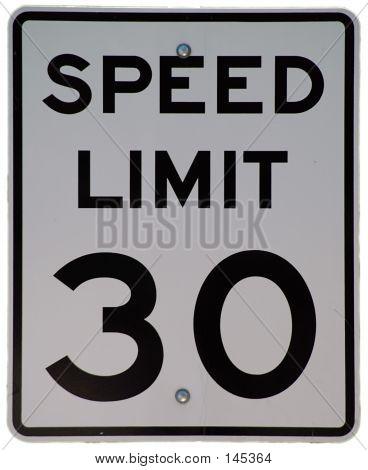 Speed Limit 30