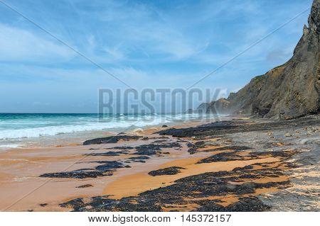 Castelejo Beach (algarve, Portugal).