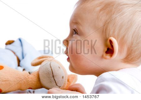 Fascinated Baby
